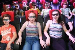 Tayto Park Attraction - 5D Cinema