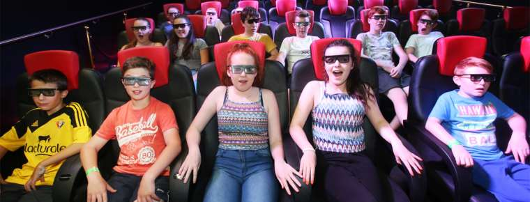 Tayto Park Theme Park - 5D Cinema