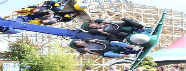Tayto Park Theme Park - Air Race