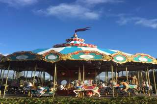Tayto Park Attraction - The Grand Carousel