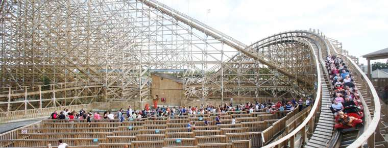 Tayto Park Theme Park - The Cú Chulainn Coaster