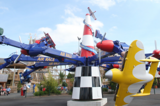 Tayto Park Attraction - Air Race