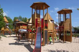 Tayto Park Attraction - Playground and Water Fun