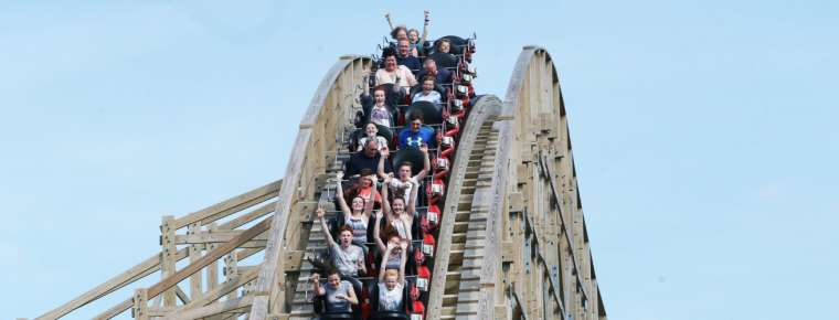 The Cú Chulainn Coaster | Tayto Park - Theme Park & Zoo