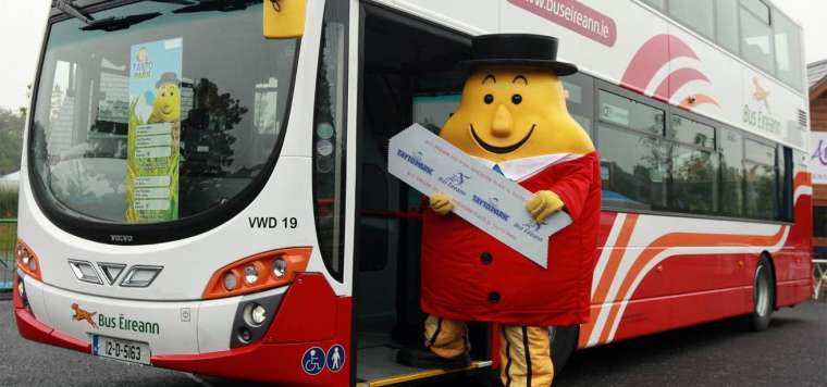 Tayto Park - Bus Services