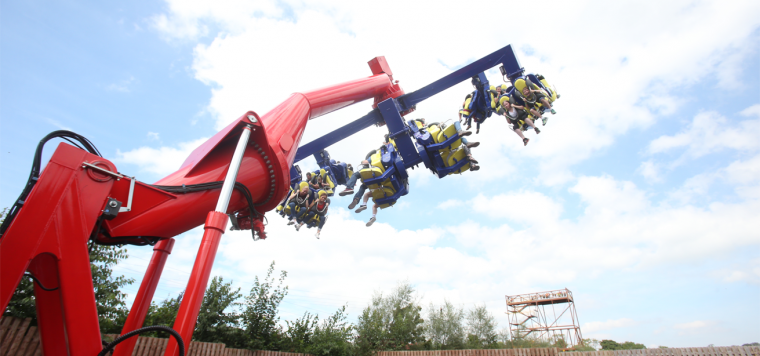 Tayto Park - The Power Surge Attraction