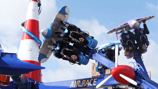 Tayto Park - Air Race
