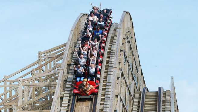 Tayto Park - The Cu Chulainn Coaster