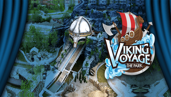 Tayto Park - Viking Voyage at the Park
