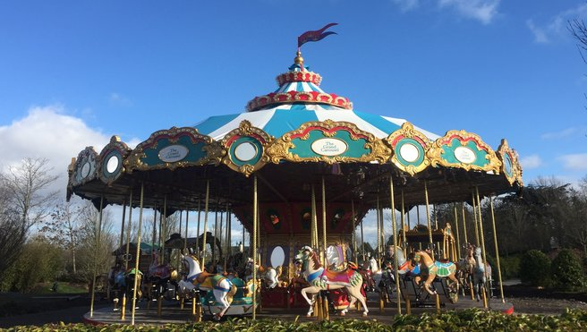 Tayto Park - New! The Grand Carousel